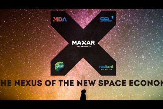 The formation of Maxar technologies