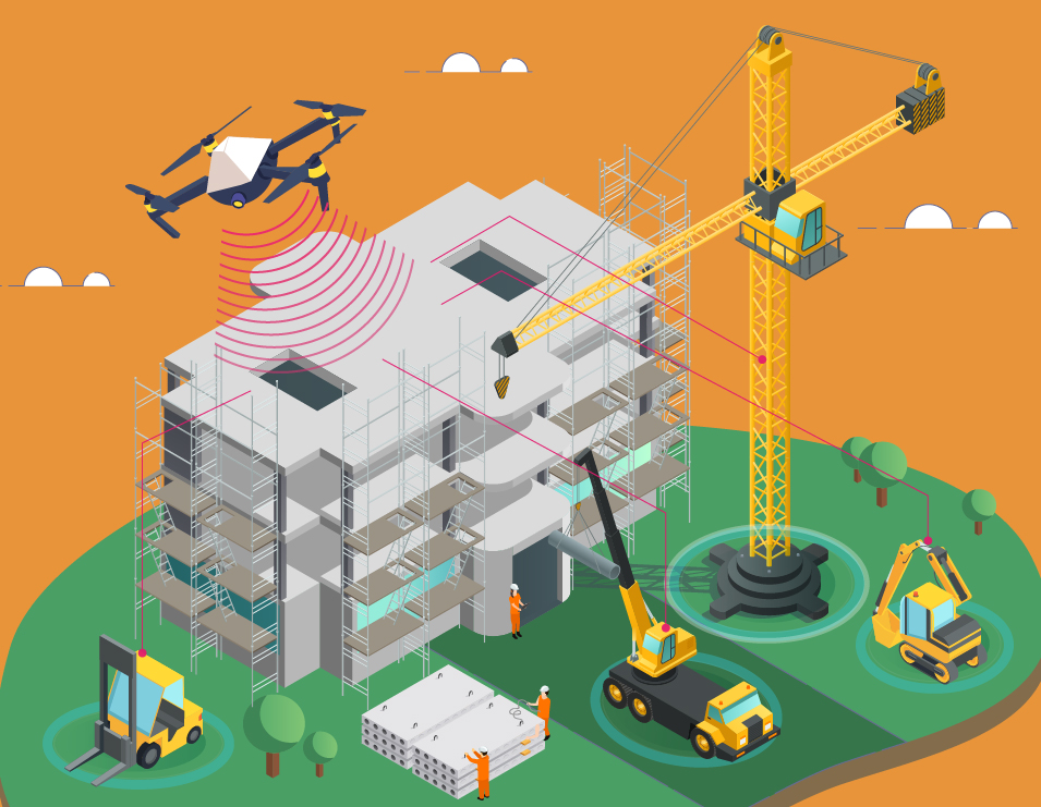 An Aerial View of the Future - Using Drones in Construction