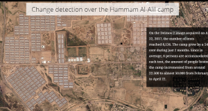 Monitoring Iraq's conflict humanitarian impact – The refugee camp of Hammam Al-Alil