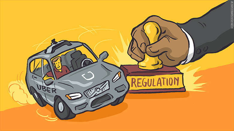 framing regulations for driverless cars