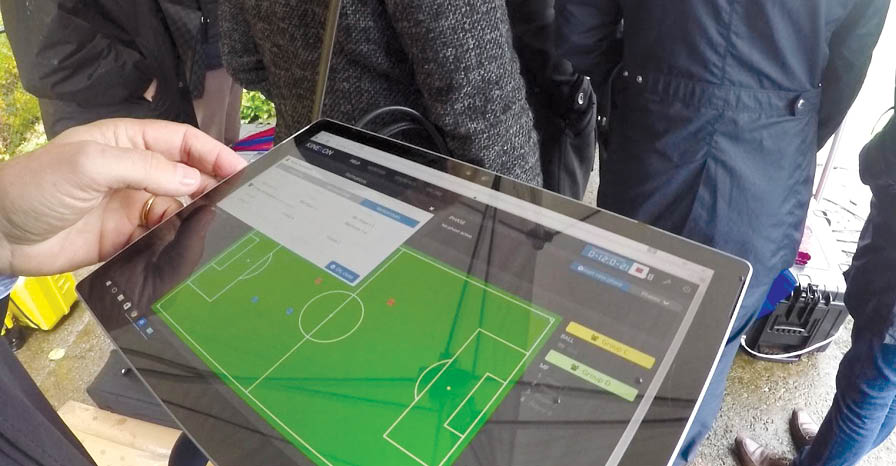 GPS and location in FIFA