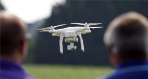 unmanned flights monitoring