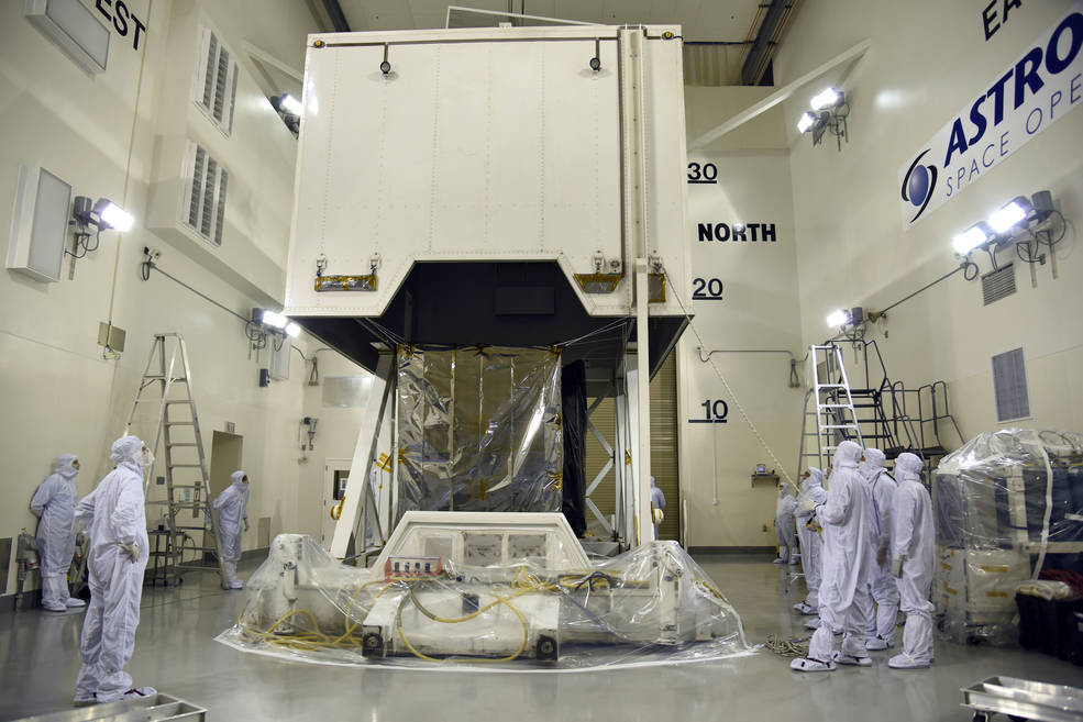 advanced Laser satellite