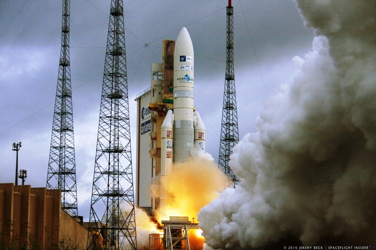 Arianespace to launch the GSAT-31 and GSAT-30 satellites for India with Ariane 5