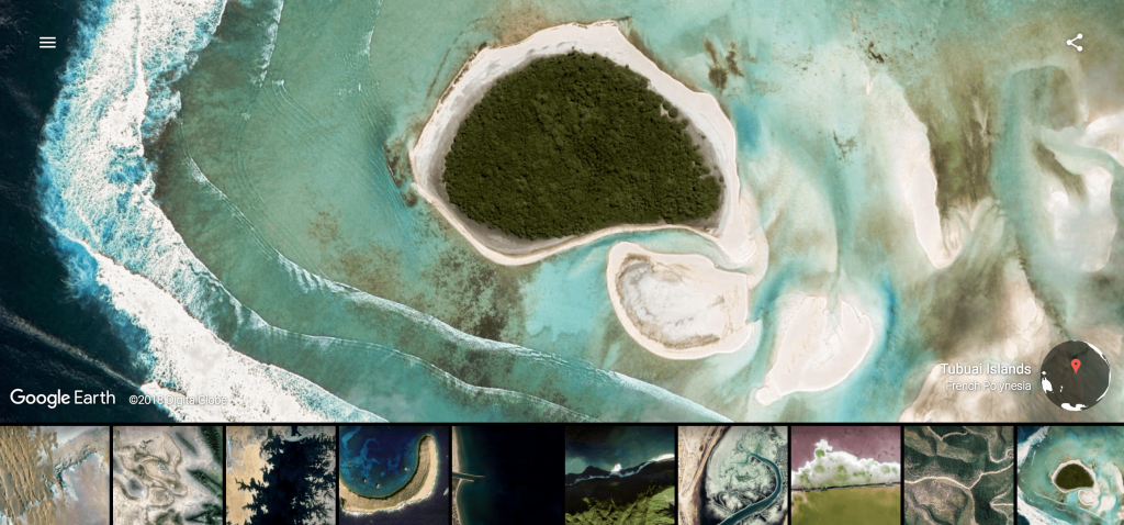 Visit unbelievable places with Google Earth View theme for