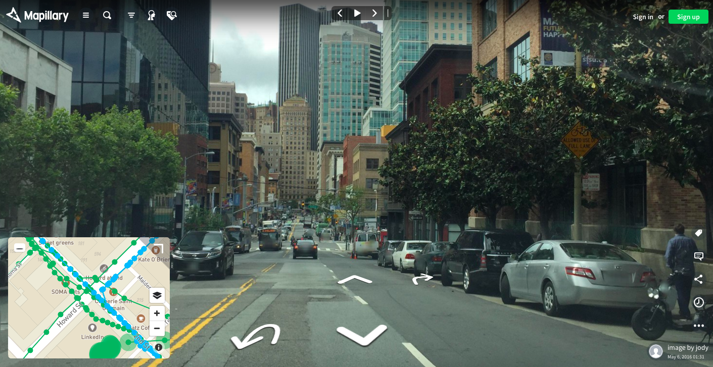 maps using computer vision