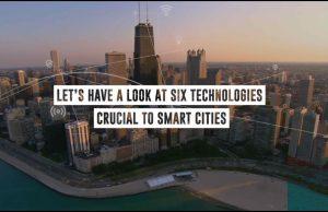 Technologies needed to build smart cities