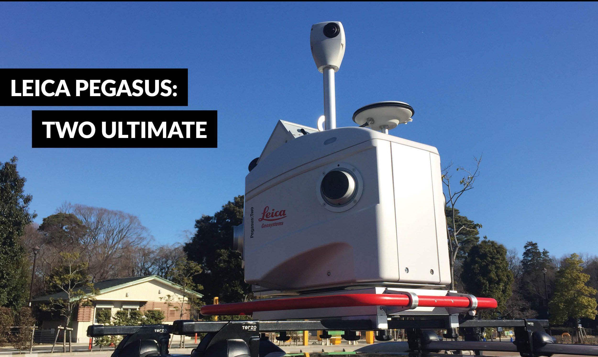 Hexagon Geosystems introduces new Leica Pegasus mobile