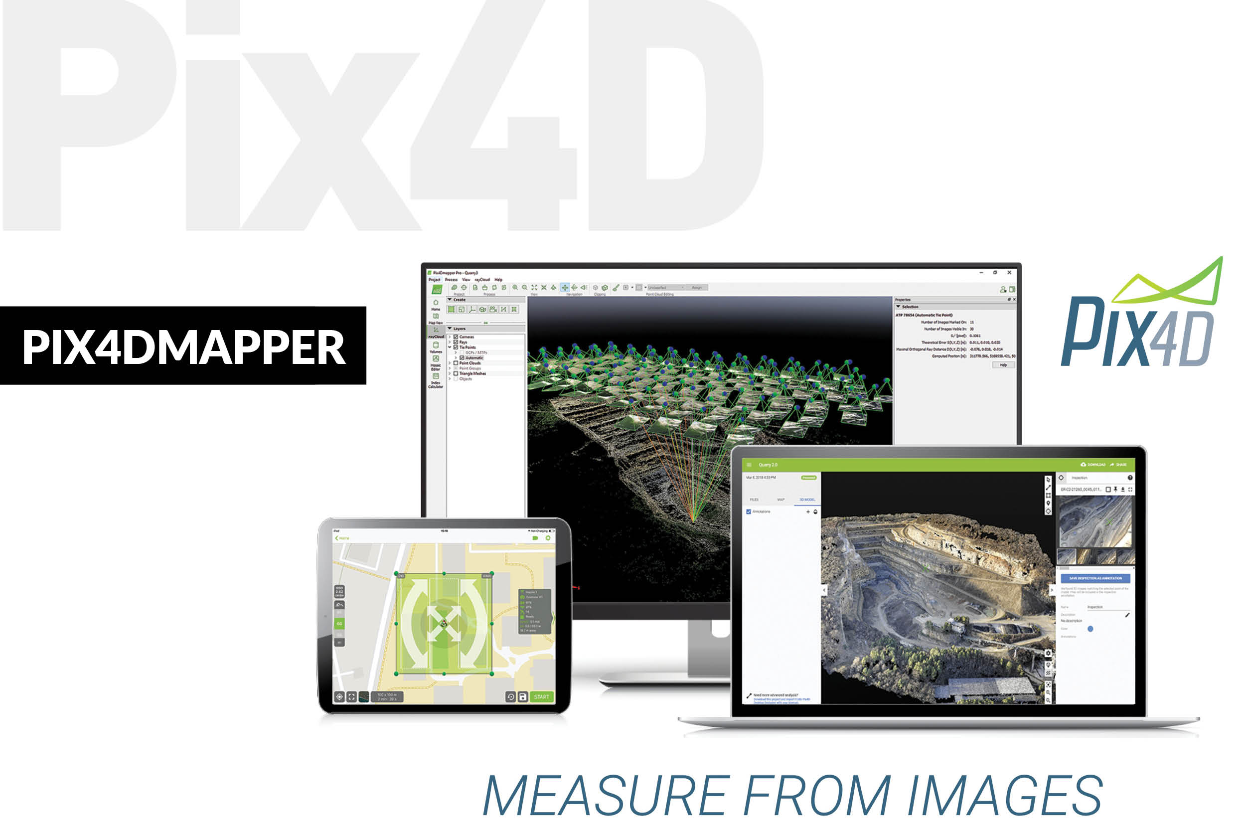Pix4D launches Pix4Dmapper, capable of converting images into