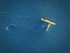 Corsica oil spill