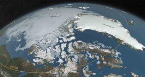 Massive Crater Under Greenland Ice