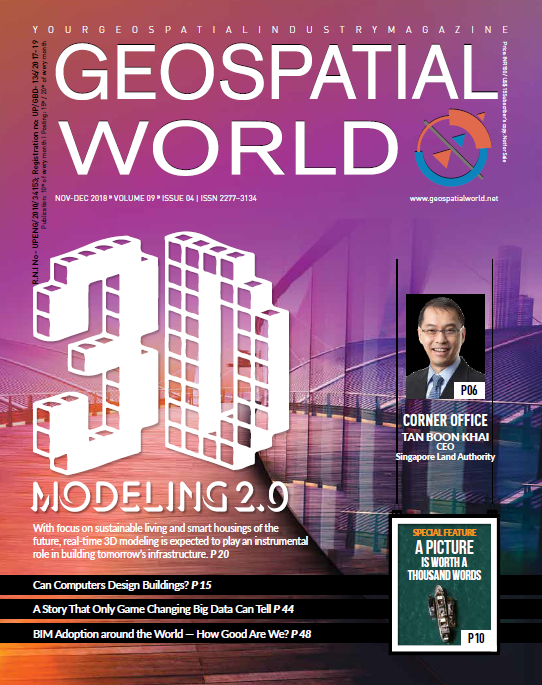 Geospatial World Magazine November 2018: 3D Modeling 2.0