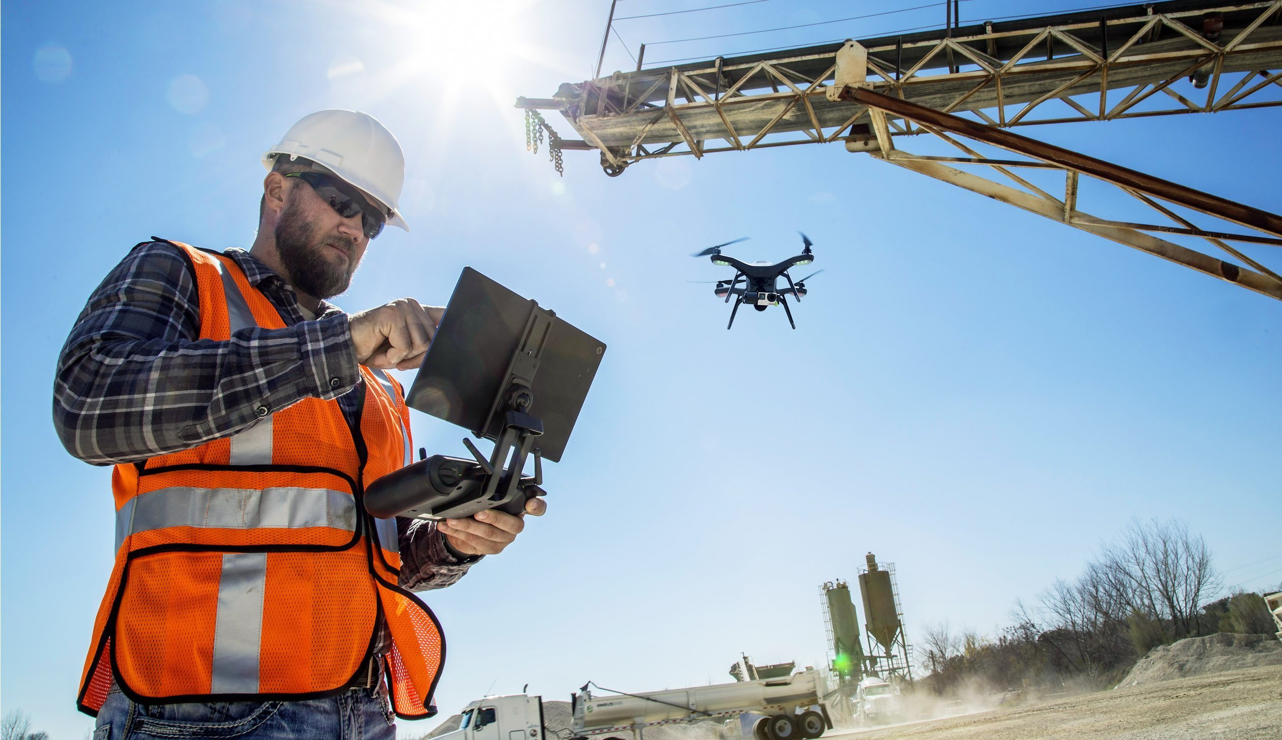 Using Drones In The Construction Industry Geospatial World
