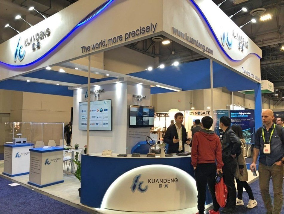 Kuandeng Technology demonstrates high-precision maps in CES 2019 on