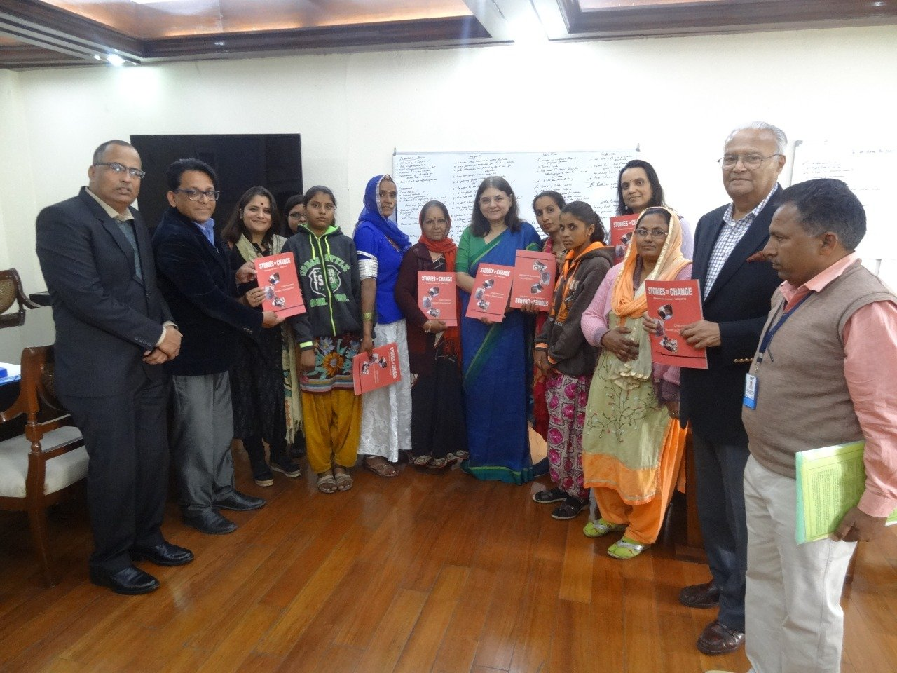 Indian minister for Women and Child Development lauds child