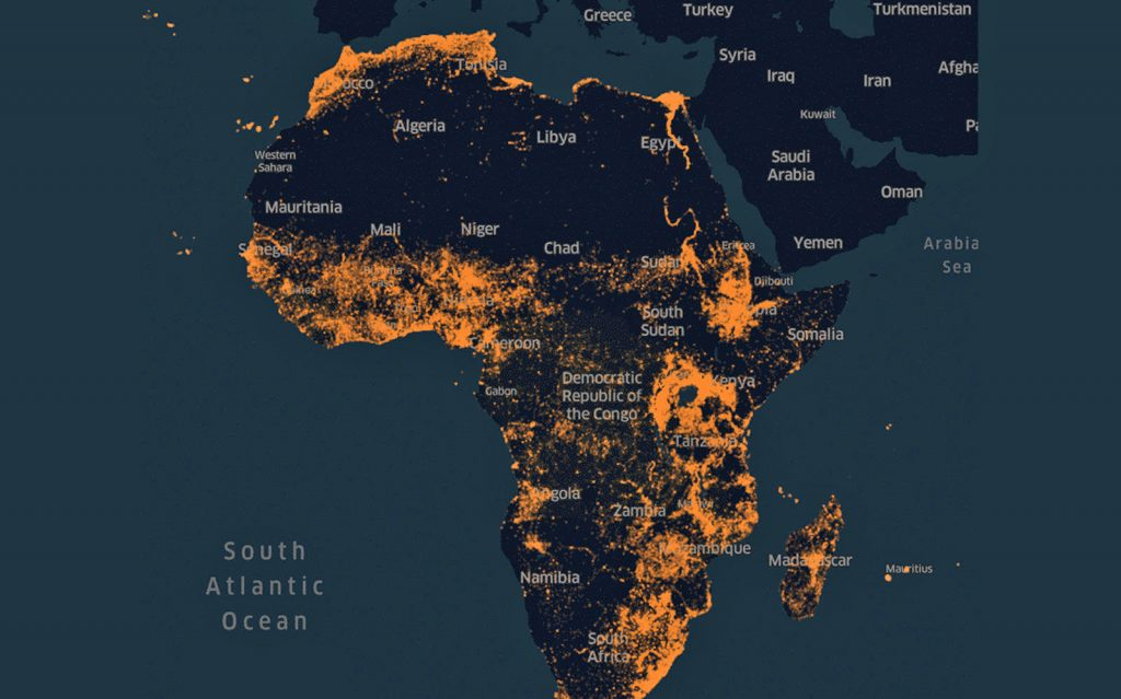 Facebook uses AI to map global population density