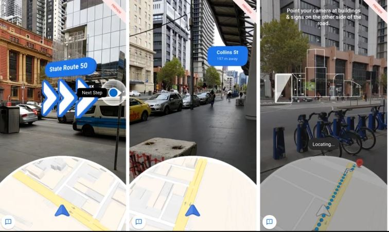 Google unveils AR feature for maps and search options