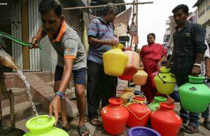 金奈水危机:卫星图像显示印度城市的地下水位正在干涸