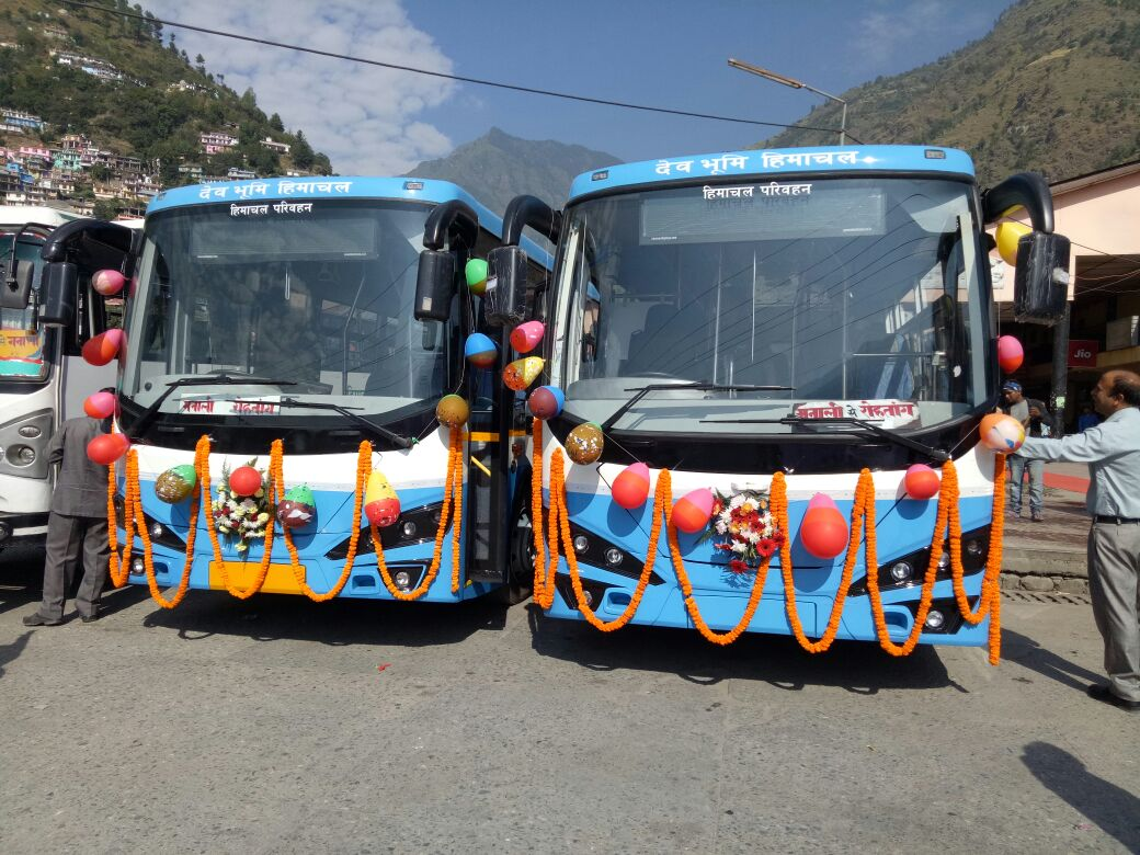 Electric bus adoption in India
