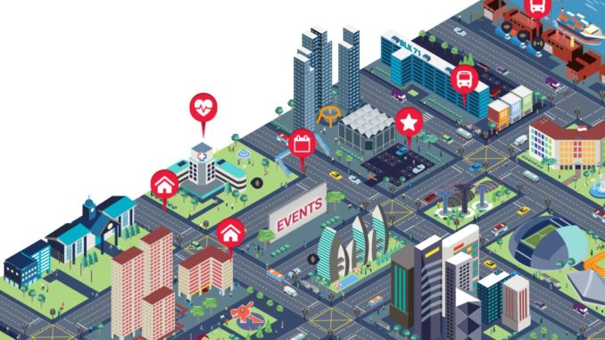 How location technology contributes to smart Singapore