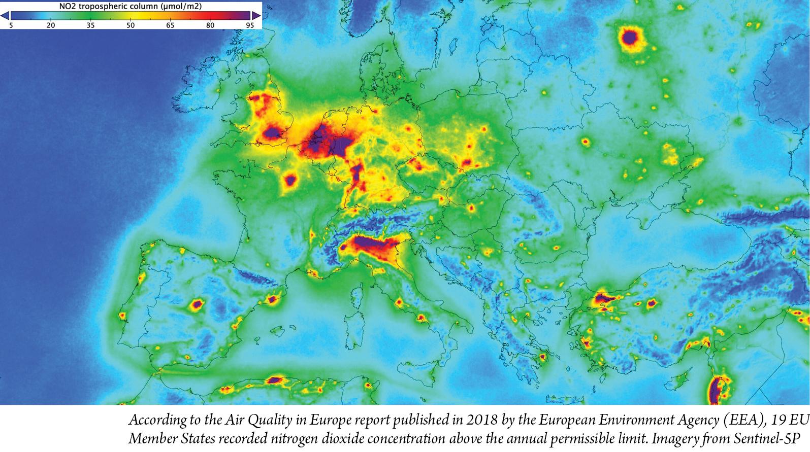 satellites for emissions
