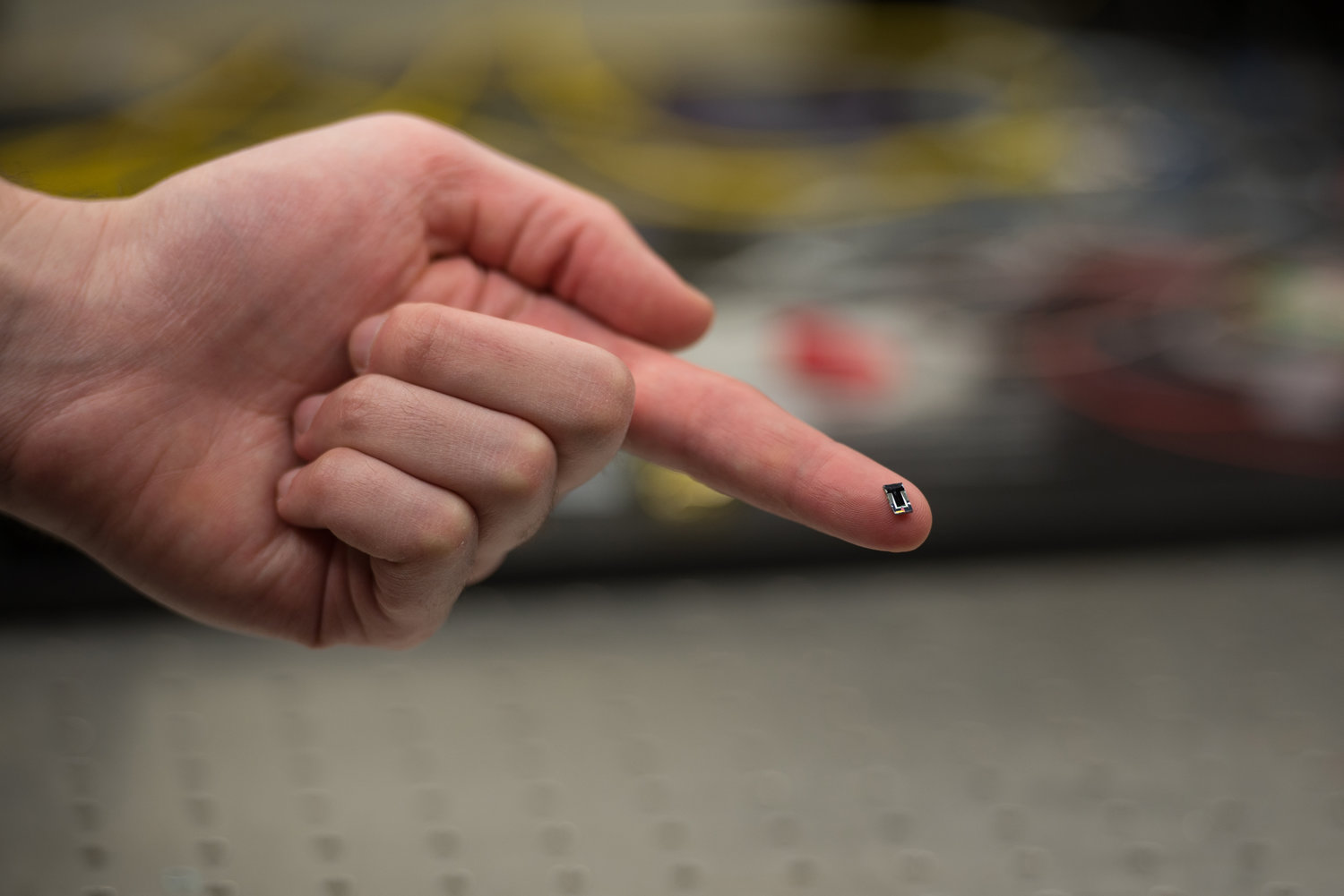 Voyant Photonics creates LiDAR that can fit on your fingertip