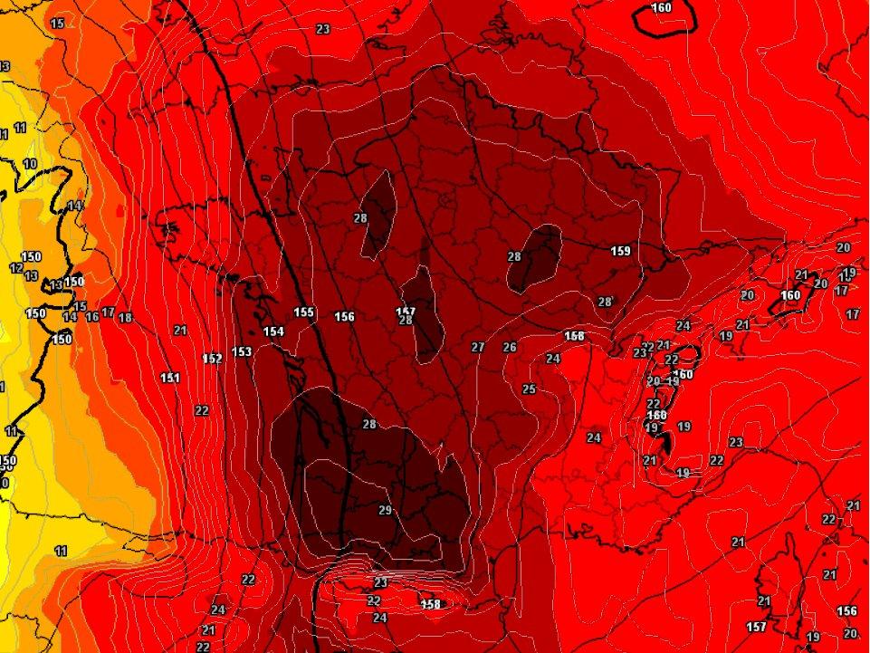 Europe heat wave
