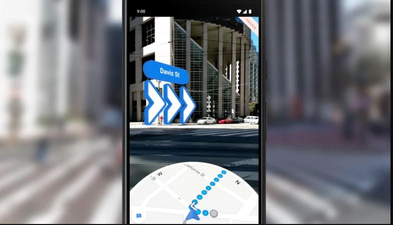 Google Maps rolls out AR navigation for iOS and Android smartphones