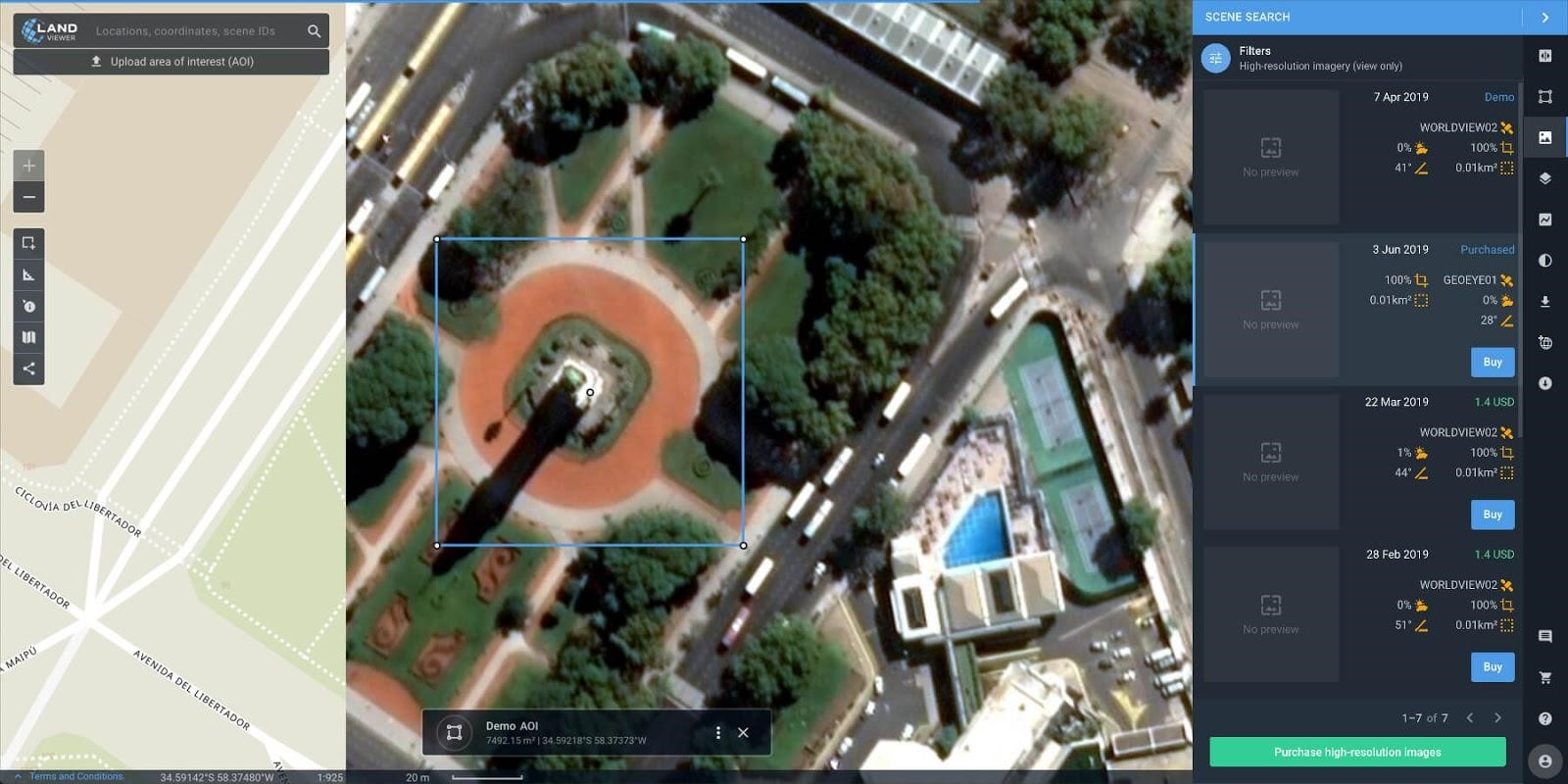 The latest high-res imagery at your fingertips - Geospatial
