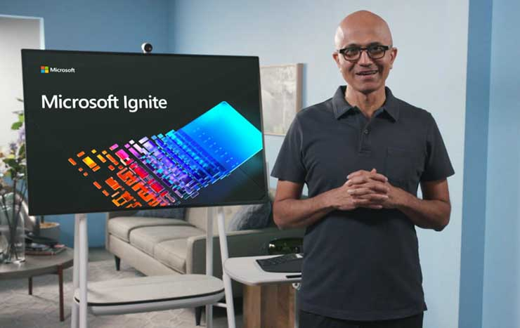 Microsoft ground station business