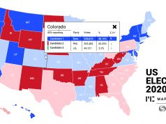 US elections map