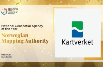 Norwegian Mapping Authority: National Geospatial Agency of the Year