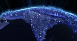 印度的地理空间的指导方针